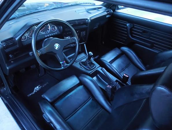 Салон старой BMW