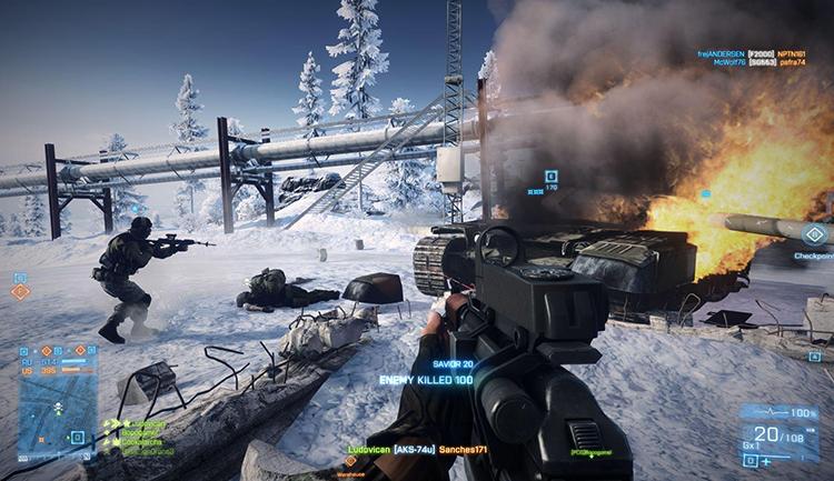 В игре Battlefield 4