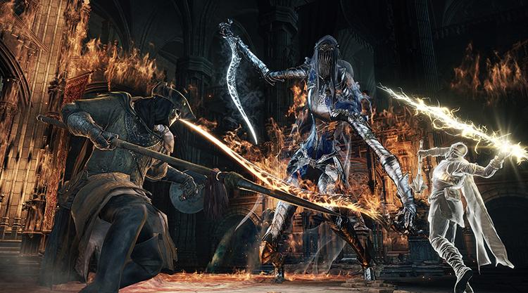 В игре Dark Souls III