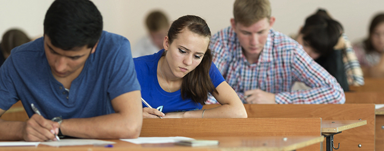 Студенты на обучении