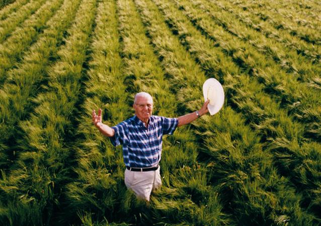 Счастливый фермер