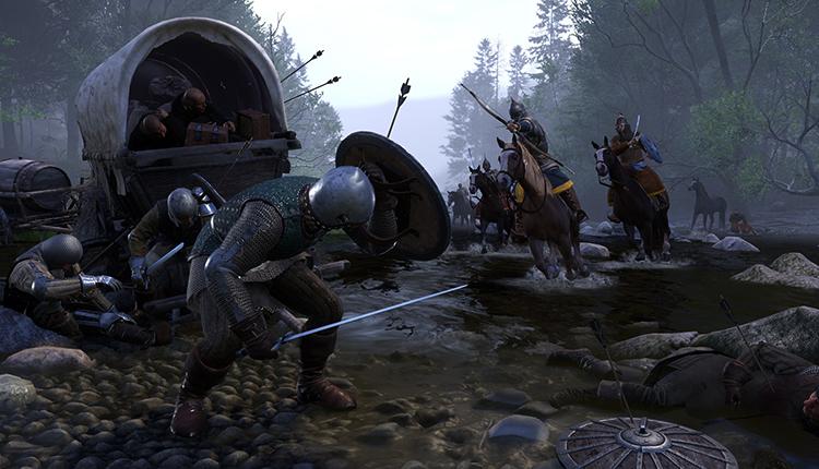 Битва в игре Kingdom Come: Deliverance