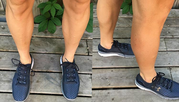 Бритые мужские ноги