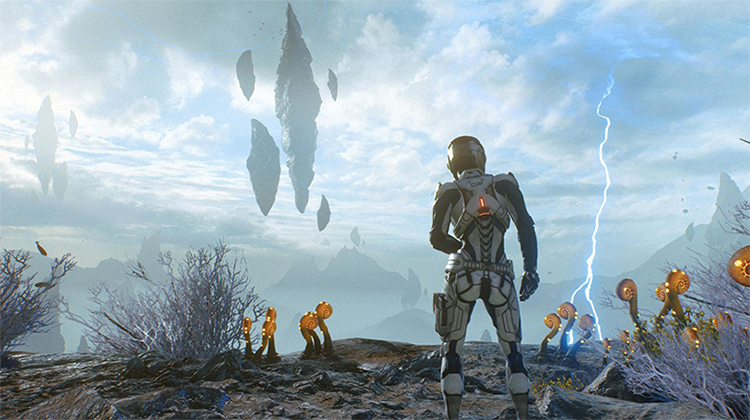 Герой игры Mass Effect: Andromeda