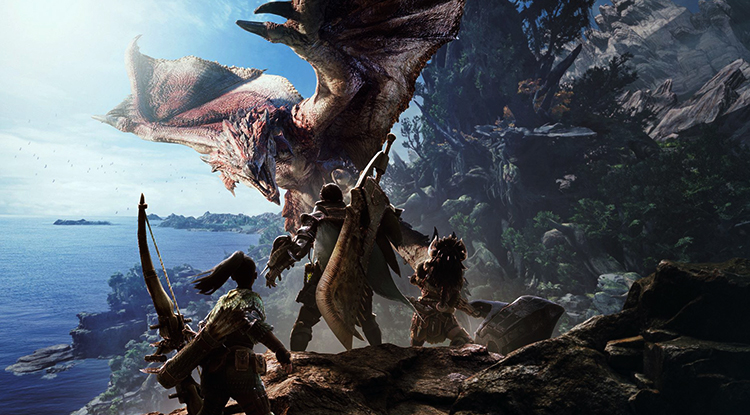 Герои игры Monster Hunter: World