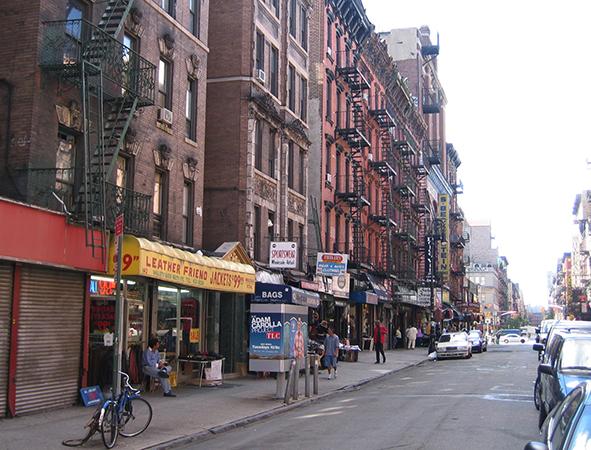 Гетто в Нью-Йорке