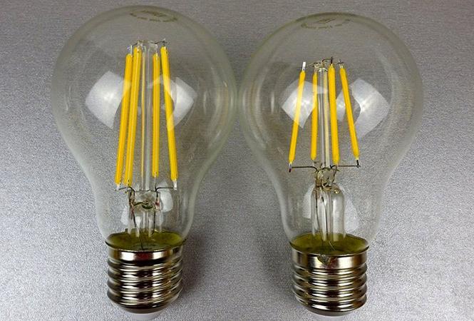 Новые филаментные лампы