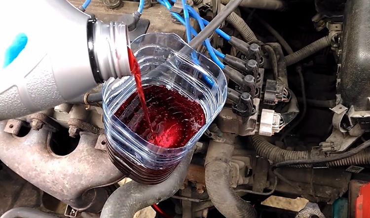Новое масло для машины