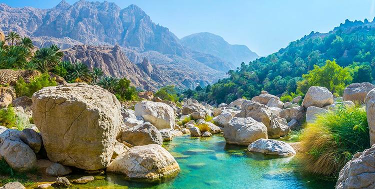 Красивая природа Омана