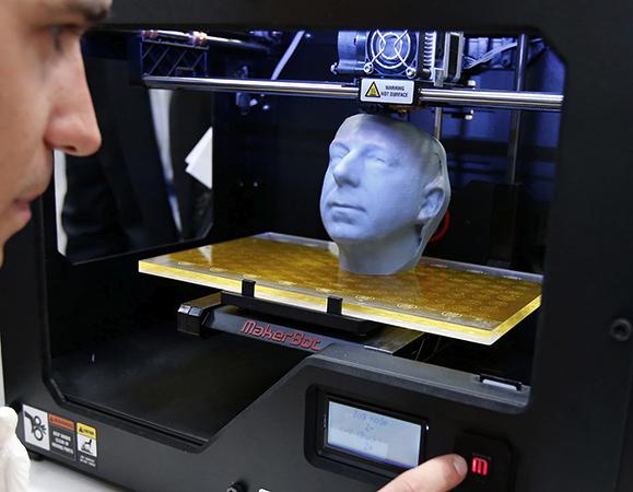 Печать головы на 3D-принтере