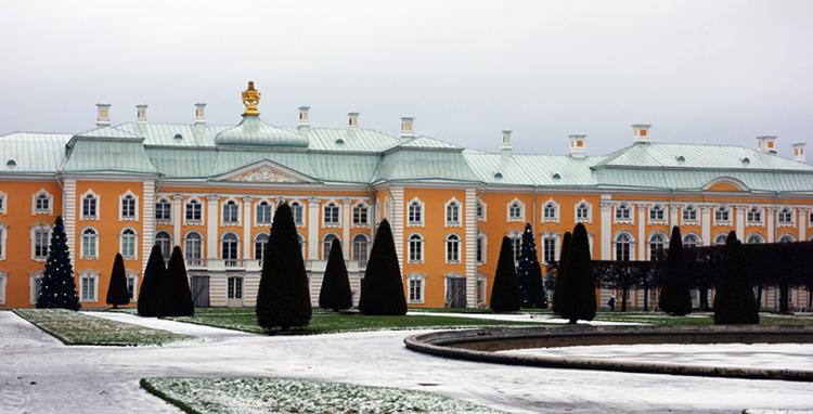 Зимний Петергоф