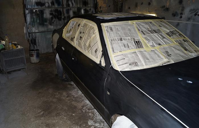 Авто на покраске