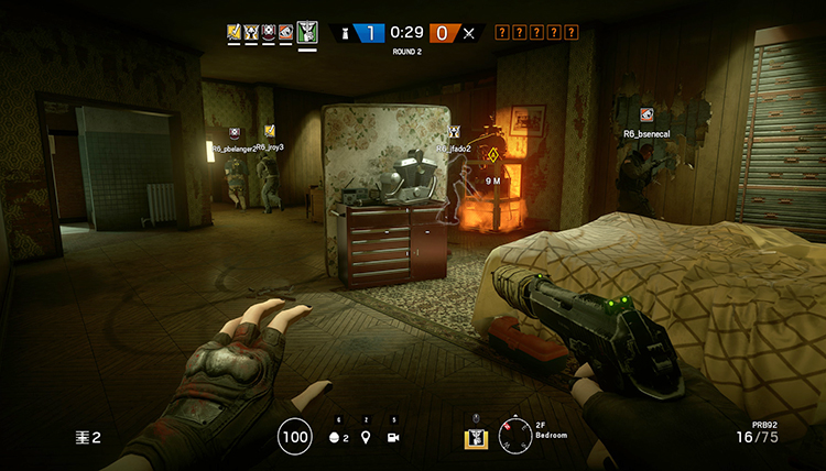 Игра в Tom Clancy's Rainbow Six: Siege