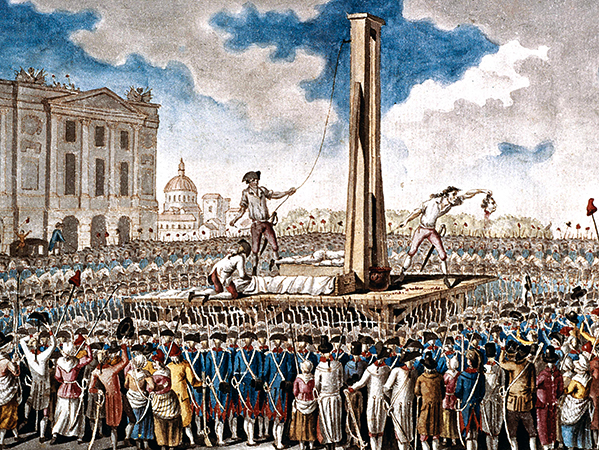 Казнь во время революции