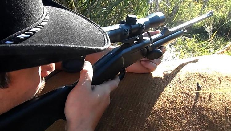 Использование ружья МР-18 МН