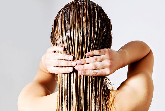 Волосы после безсульфатного шампуня