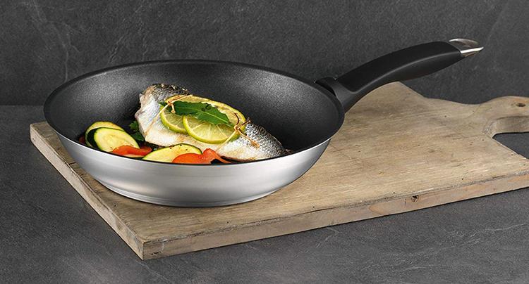 Использование сковороды с титановым покрытием