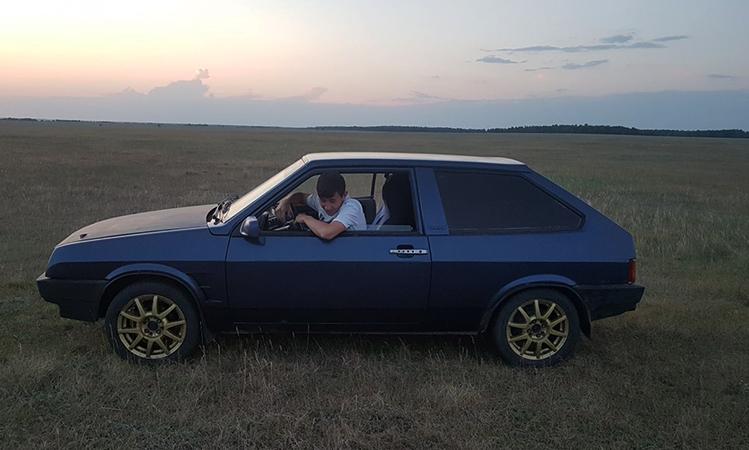 Старый ВАЗ-2108