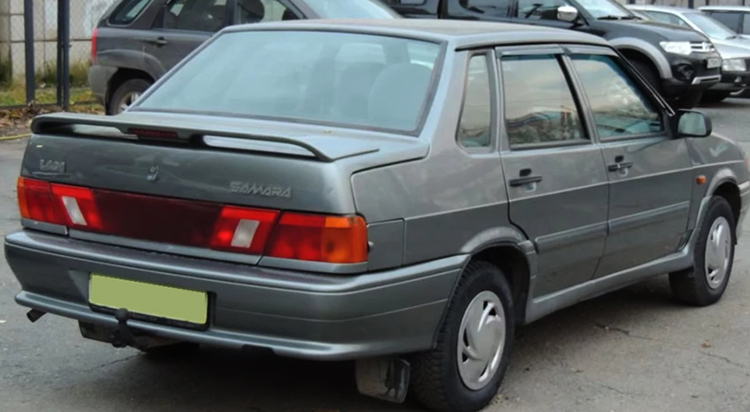 Вид ВАЗ-2115