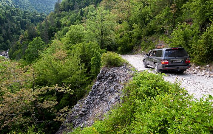 Авто в Абхазии