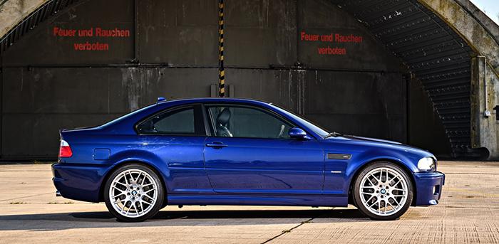 BMW E46 в профиль