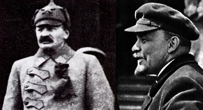 Троцкий и Ленин