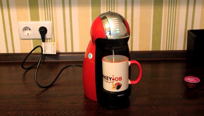 Капсульная кофемашина дома