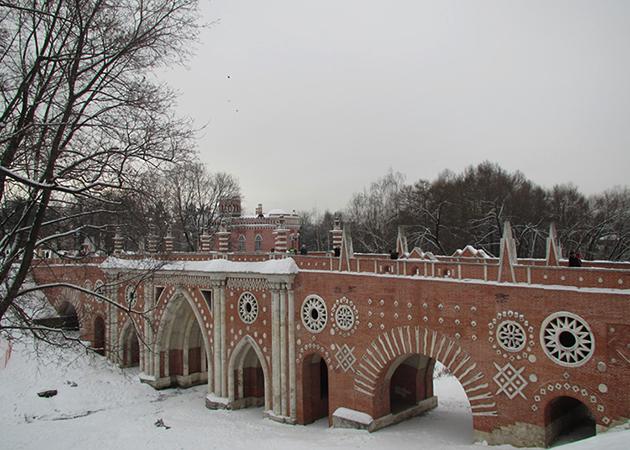 Зимний Царицыно