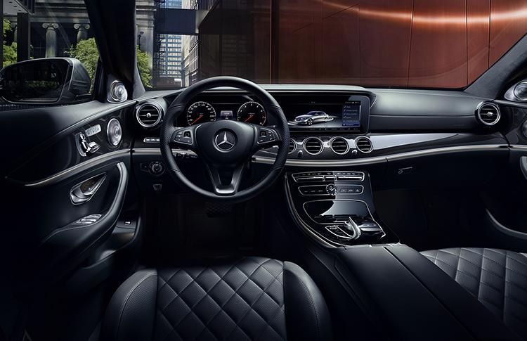 Салон Mercedes-Benz E-класс