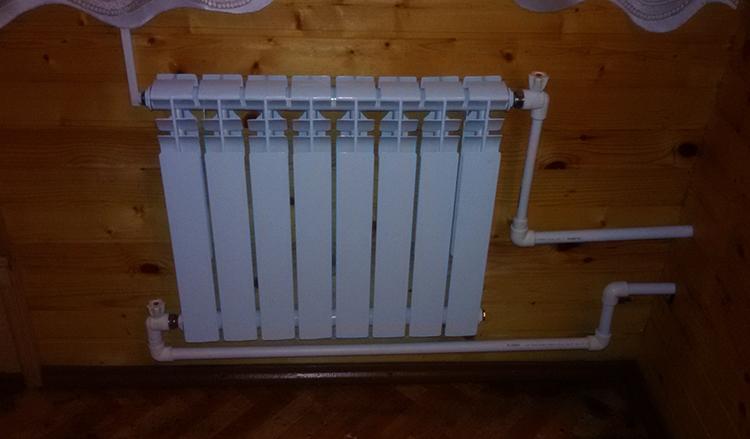Диагональное подключение радиаторов отопления