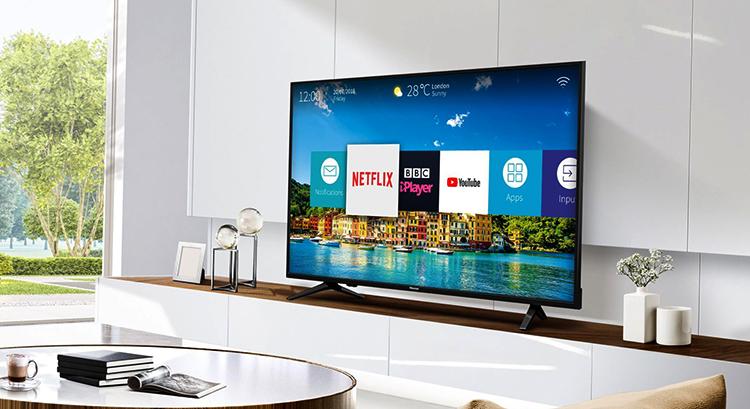 Новый телевизор Hisense