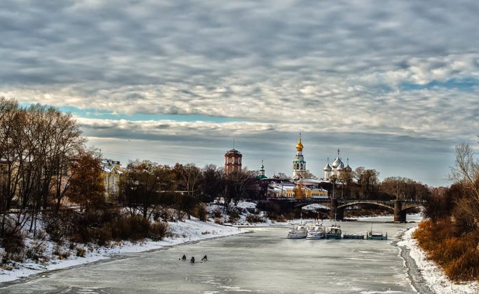 Красота зимней Вологды