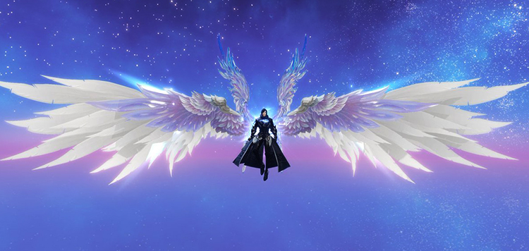 Крылья в игре