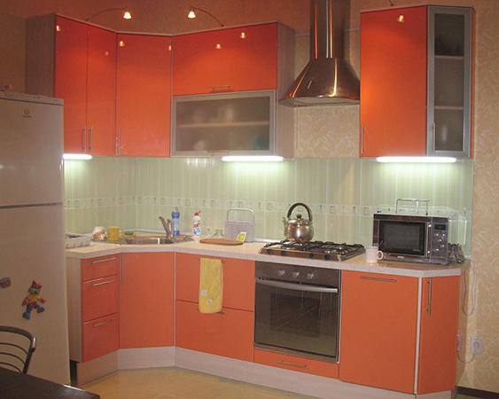 Современная кухня из эмали