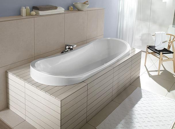 Новая ванна из кварила