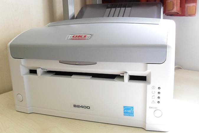 Светодиодный принтер дома