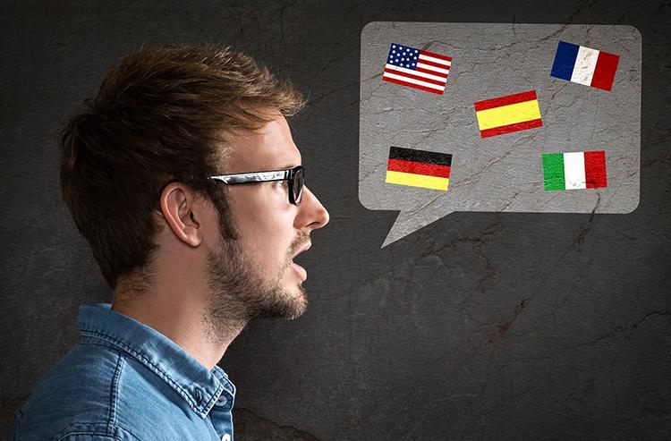 Мужчина-лингвист