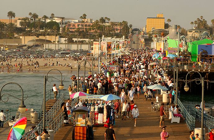 Люди в Лос-Анджелесе