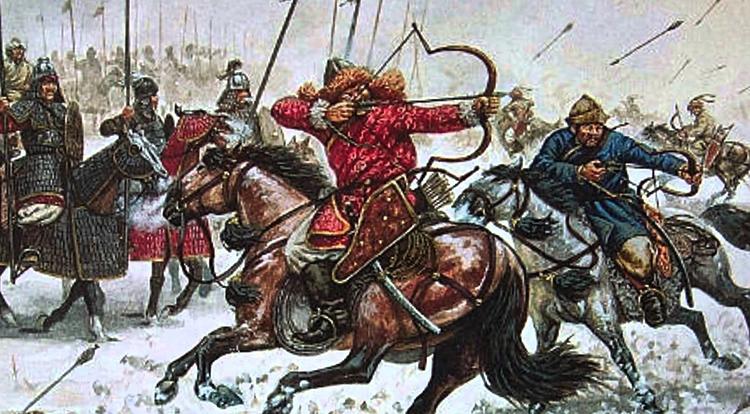 Набег монголов
