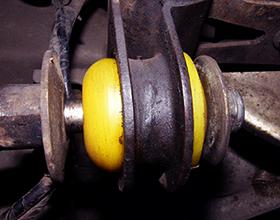 Полиуретан в подвеске автомобиля: плюсы и минусы
