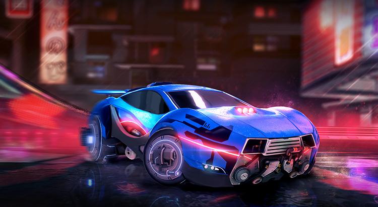 Автомобиль из игры Rocket League