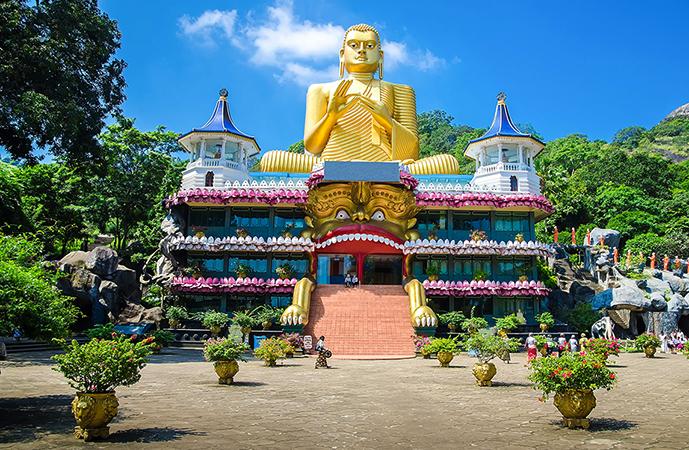 Храм на Шри-Ланке