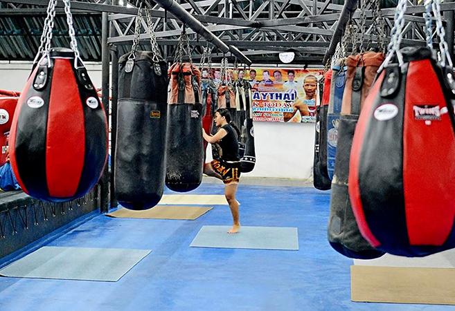 Зал тайского бокса