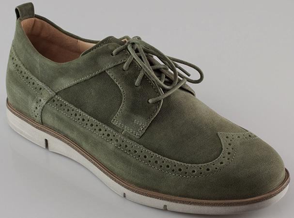 Современная обувь из велюра