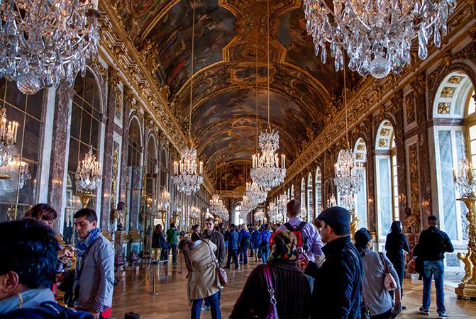 Внутри Версаля