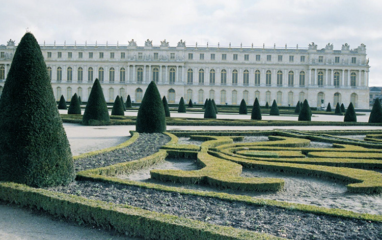Версаль зимой