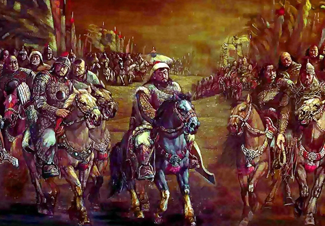 Воины Монгольской Империи
