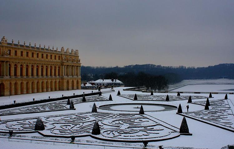 Зимний Версаль
