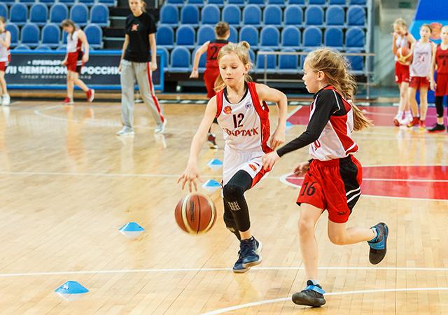 Баскетбол для девочек