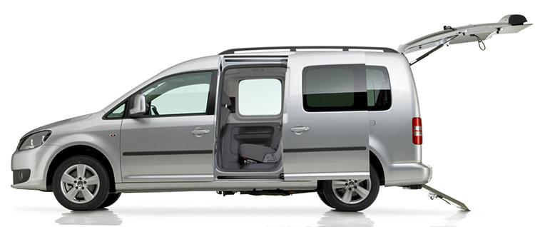 Volkswagen Caddy в профиль